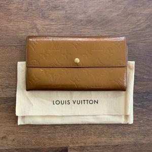 Louis Vuitton Portefeuille Sarah Tan Vernis Wallet